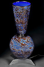Lapis Lazuli by Eric Bladholm (Art Glass Table Lamp)