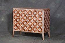 Parquetry Credenza by Scott Ernst (Wood Credenza)