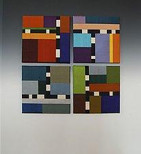 Color Story: Quartet by Sonya Lee Barrington (Fiber Wall Art)