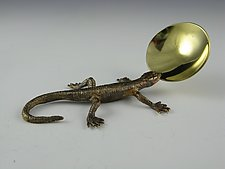 Little Gecko Spoon by Carey Smith (Metal Spoon)