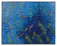 Koi Shimmer by Tim Harding (Fiber Wall Art)