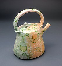 Scroll Teapot by Lauren Kearns (Ceramic Teapot)