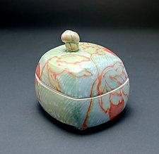 Homage Box in Jade by Lauren Kearns (Ceramic Box)