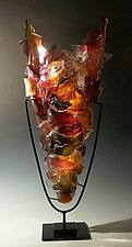 Thoroughfare by Caleb Nichols (Art Glass Sculpture)