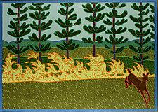 Prairie Fire by Charles Munch (Giclee Print)