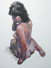 Sitting Torso by Cathy Locke (Oil Painting)