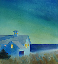 Evening Barn I by Suzanne Siegel (Giclee Print)