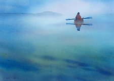 Still Paddling by Suzanne Siegel (Giclee Print)