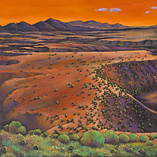 High Desert Evening by Johnathan  Harris (Giclee Print)