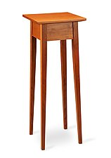Tall Splay by Tom Dumke (Wood Pedestal Table)