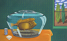 The Cowfish by Jane Troup (Oil Painting)