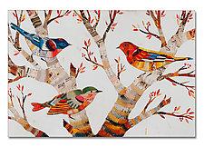 Warblers Box Print by Dolan Geiman (Box Print)