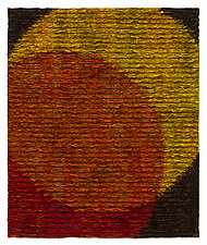 Venn Diagram-Orange by Tim Harding (Fiber Wall Art)
