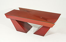 Russet Coffee Table by John Wilbar (Wood Coffee Table)