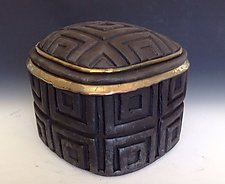 Cajita Cuadrada by Candone Wharton (Ceramic Box)