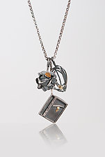 Charm Necklace 4 by Lori Gottlieb (Gold & Silver Necklace)