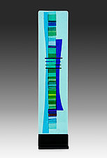 Ocean Sculpture by Alicia Kelemen (Art Glass Sculpture)