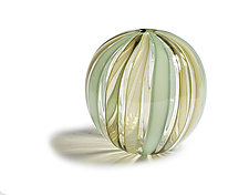 Bocce Budvase in Seafoam by Tracy Glover (Art Glass Vase)
