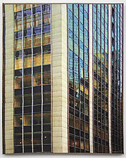 New York Windows 1340 by Marilyn Henrion (Fiber Wall Art)