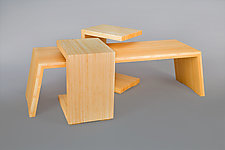 Continuity by Alan Powell (Wood Coffee Table)