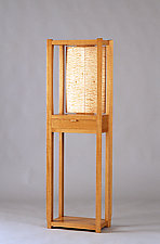 Standing by Alan Powell (Wood Pedestal Table)