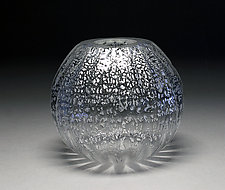 Silver Vase by Scott Summerfield (Art Glass Vase)