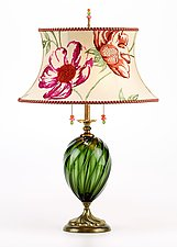 Sarah by Susan Kinzig and Caryn Kinzig (Mixed-Media Table Lamp)