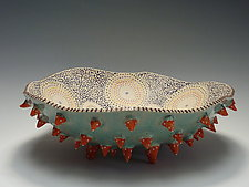 Urchin Bowl by Vaughan Nelson (Ceramic Bowl)