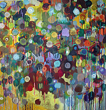 Abstract 2 by Bruce Klein (Acrylic Painting)