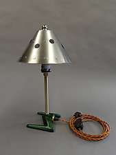 Telford Table Lamp by Tim Wells (Metal Table Lamp)