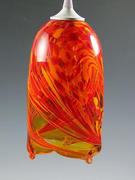 Flame pendant light by mark rosenbaum art glass pendant lamp flame pendant light by mark rosenbaum art glass pendant lamp artful home aloadofball Image collections