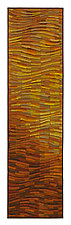Tangerine Wave Banner by Tim Harding (Fiber Wall Art)