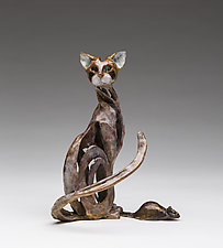 A Gift by Sandy Graves (Bronze Sculpture)