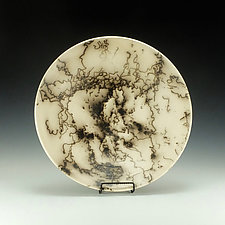 Large Horse Hair Bowl by Lance Timco (Ceramic Bowl)