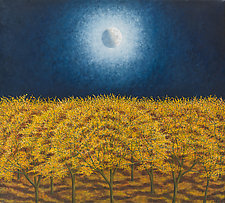 Autumn Moon by Scott Kahn (Giclee Print)