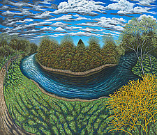 Griswold Pond by Scott Kahn (Giclee Print)