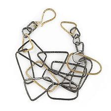 Gold Shape Bracelet by Kendra Renee (Gold & Silver Bracelet)