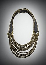 Tress Zipper Necklace by Kate Cusack (Zippered Necklace)
