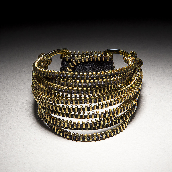 Tress Zipper Bracelet
