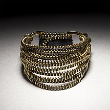 Tress Zipper Bracelet by Kate Cusack (Zippered Bracelet)