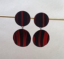 Carmela Dangle Earring by Klara Borbas (Polymer Clay Earrings)