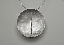 Fantana Necklace by Christy Klug (Silver Necklace)