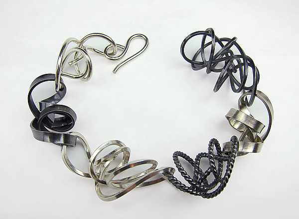 Mixed Texture Wire Bracelet