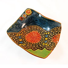Kelly's Dream by Laurie Pollpeter Eskenazi (Ceramic Plate)