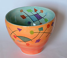 Satellite Bowl by Rod  Hemming (Ceramic Bowl)