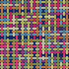 Weave, Wove, Woven by Kent Williams (Giclee Print)