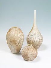 Sedona Vessels by Avolie Glass (Art Glass Vase)