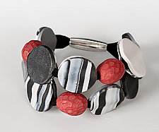 Sabrina Bracelet by Klara Borbas (Polymer Clay Bracelet)