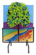 Summer Tree by Anne Nye (Art Glass Sculpture)