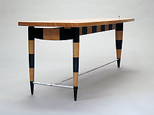 Striped Coffee Table by Cosmo Barbaro (Wood Coffee Table)